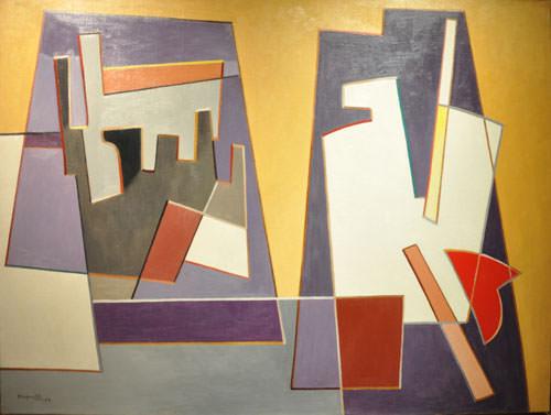 Alberto Magnelli 1948 olio su tela 97-5x130 cm 1