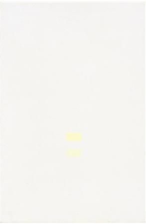 Antonio Calderara 1972 olio su tavola 27 x 18 cm 1