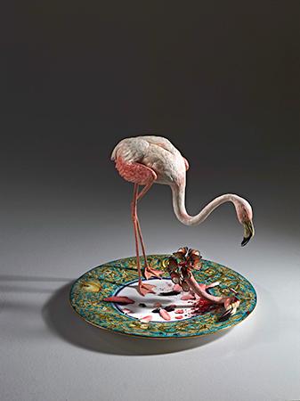 Bertozzi & Casoni 2012 ceramica policroma 68 x 7 3x 119 cm 1