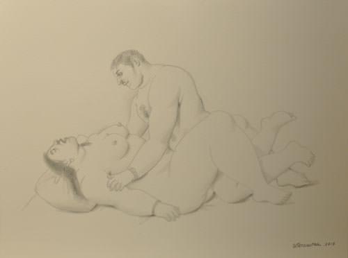 Fernando Botero 2013 pencil on paper 31x41 cm 6