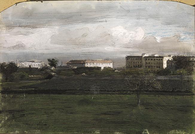Giacomo Balla 1904 pastello su carta 23.2 x 33.5 cm 1