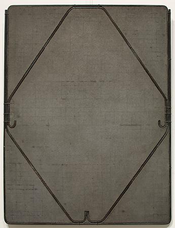 Giuseppe Uncini 1963 ferro e cemento 64 x 49 cm 2