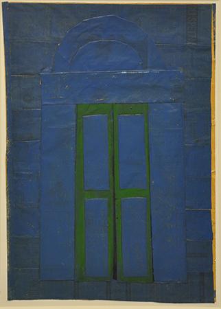 Jannis Kounellis 1966 tecnica mista 60 x 42 cm 2