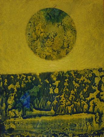 Max Ernst 1962 olio su tavola 35 x 26 cm 2