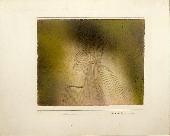 Paul Klee 1927 acquarelli e inchiostro su carta 24.8 x 30 cm 1