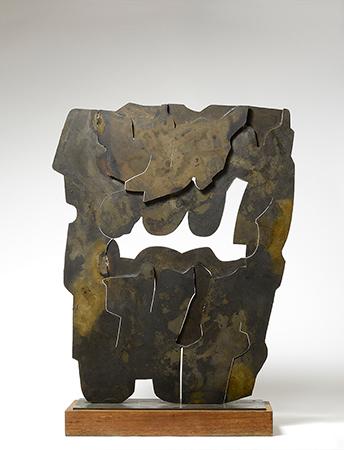 Pietro Consagra 1966  bronzo 80 x 66 cm ed 1 di 2 1