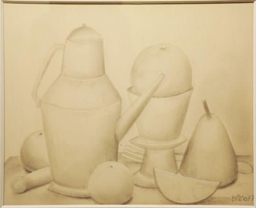 Fernando Botero 1977 pencil on paper 35.5x43 cm 9