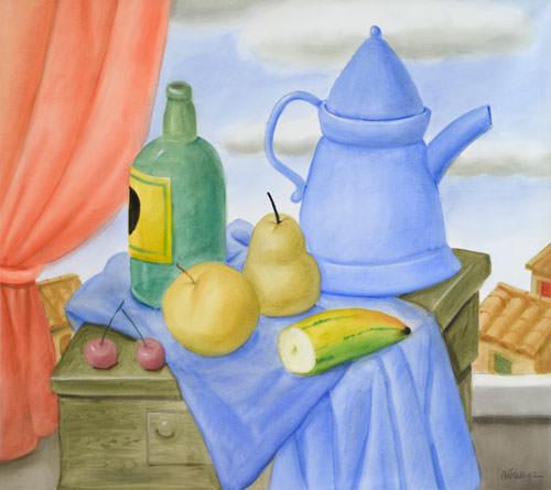 Fernando Botero water colour on paper 82x91cm 12