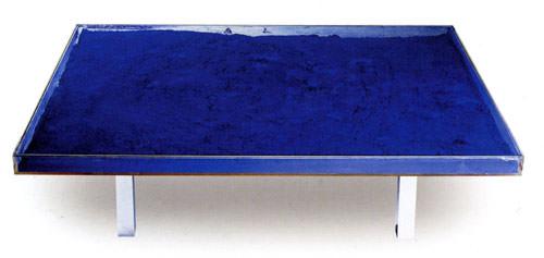 Yves Klein 2013 Plexiglass vetro e pigmento blu 357x1245x997 cm 1