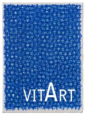 Piero Dorazio 1962 Olio su tela 33.5 x 27 cm 3
