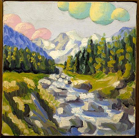 Salvo 1984 Olio su tela 25 x 25 cm 3